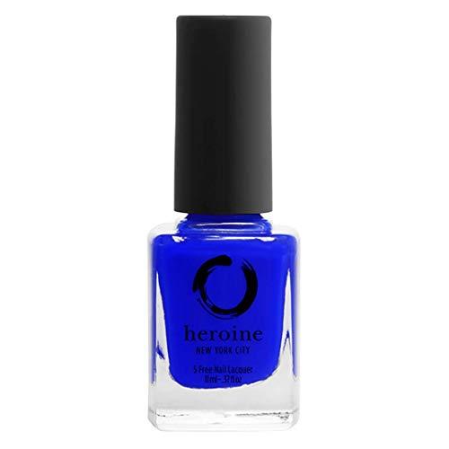 heroine.nyc deep blue creme nail polish in ROYAL BLOOD - .37 fl....