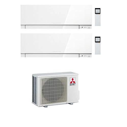 Climatizzatore Dual Split 9+12 Btu, Inverter, Pompa di Calore, Gas R32 - Kirigamine Zen