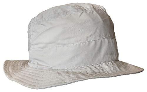 Chaskee Sonnenhut Energee Bob Bucket Cap Microfiber mit UV Schutz 60+, Farbe:Light Grey