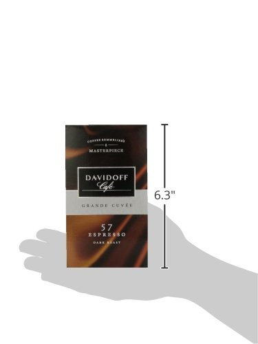 Davidoff Cafe Espresso 57 Ground Coffee, 8.8 Ounce Package