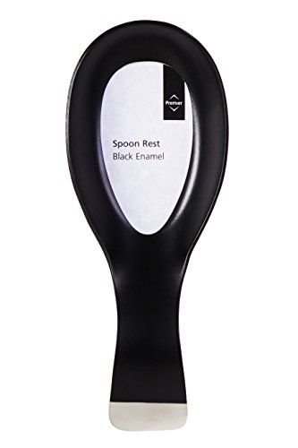 Premier Housewares Spoon Rest - Black
