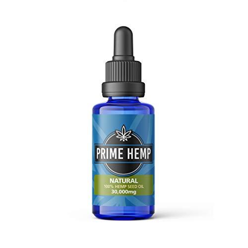 Prime Hemp Drops- 100% Natural Hemp Seed Oil 30,000mg