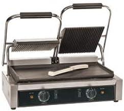 Machine grill idéale pour panini - 475 x 230 mm - L2G