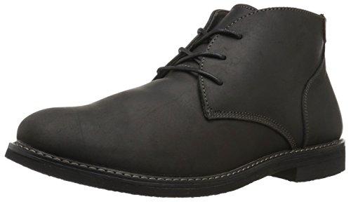 Nunn Bush Men's Lancaster Plain Toe Chukka Boot, BLACK, 9.5 Medium