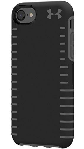 UNDER ARMOUR(アンダー・アーマー)グリップ ケース iPhone 6 / 6s / 7 / 8 ジャケット型ハードケース(ブラック x グレー) [並行輸入品]