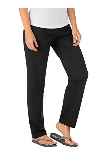 Trigema Damen 537092 Schlafanzughose, Schwarz (schwarz 008), 40 (Herstellergröße: M)