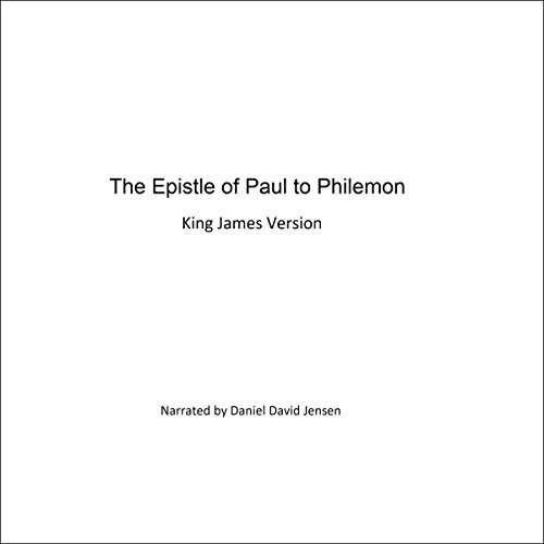 The Epistle of Paul to Philemon audiobook cover art