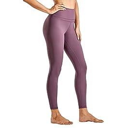 CRZ YOGA Women's Naked Feeling High Waist Tight Yoga Pants Workout Gym Leggings-25 Inches