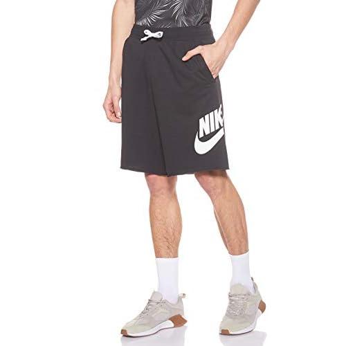 Nike Sportswear, Pantaloncini Uomo, Nero (Black/Black/White/White), M
