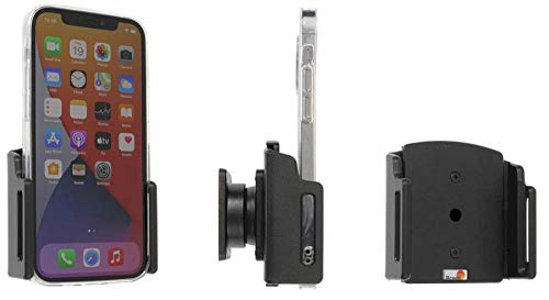 Brodit Gerätehalter 711239   Made IN Sweden   für Smartphones - Apple iPhone 12, iPhone 12 Pro, schwarz
