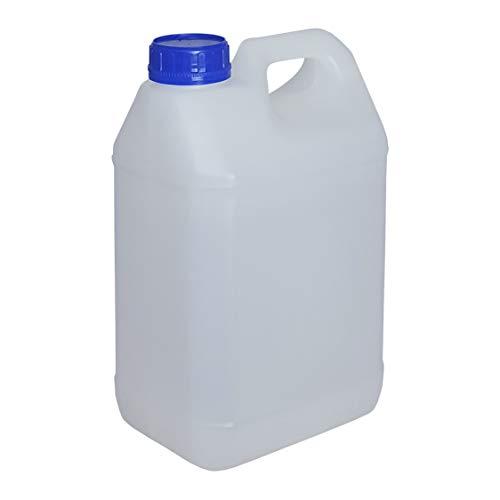 Bidon Garrafa Plástico Alimentario 10 Litros Marca Super Net Cali