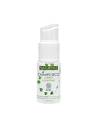 Naturtint Champú Seco, ayuda a absorber el exceso de grasa del cabello, volumen y fortaleza, cabello más suave y manejable, 100% ingredientes naturales - 20 gr