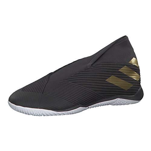 adidas Performance Nemeziz 19.3 LL Indoor Fußballschuh Herren schwarz/Gold, 10.5 UK - 45 1/3 EU - 11 US