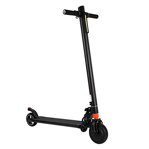 COZYSWAN Electric Kick Scooter, 6.5' Foldable Electric Scooter with Bright Front LED for Commute and Travel Adults