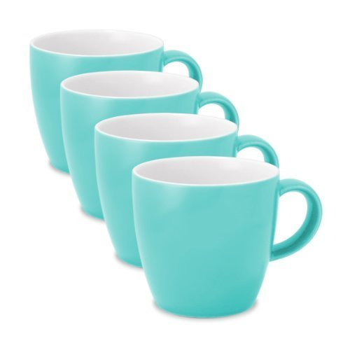 FORLIFE Uni Espresso/Oolong Teetasse (4er Set), 90 ml, Türkis von FORLIFE