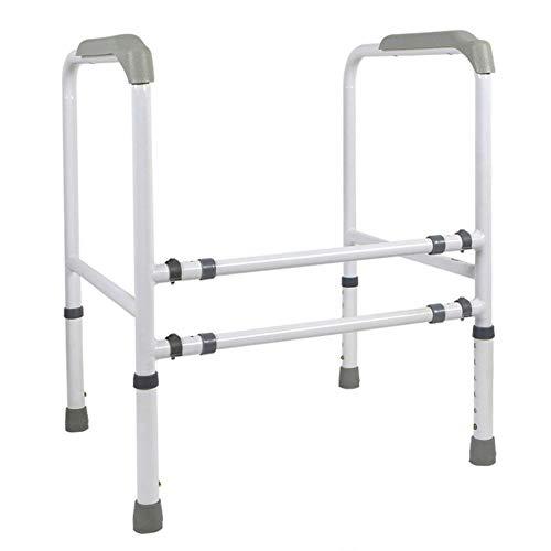 AINIYF Brausestangen WC Geländer for ältere Menschen Toilette Toilette Booster Behinderte Badezimmer Sicherheits-WC Geländer, Grau