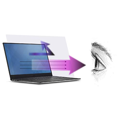 Premium Anti Blue Light and Anti Glare Screen Protector (3 Pack) for 20 Inches Desktop Monitor. Screen Protector Size is 17.4 inches width x 9.8 inches height. Filter out Blue Light and relieve computer eye strain to help you sleep better