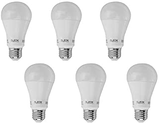 SleekLighting 13W Large A21, Dimmable General Purpose Household Light Bulb(240), Warm White (3000k) 1100 Lumens, E26 Medium Base, 75 Watt Equivalent, UL Approved (Pack of 6) [並行輸入品]