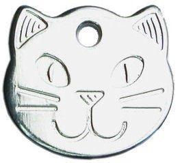 County Engraving Médaillon d'identification robuste pour chat à personnaliser