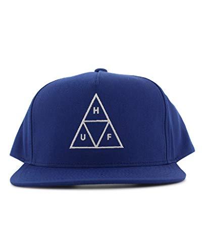 HUF Gorra Triple Triangle Azul Real - Ajustable