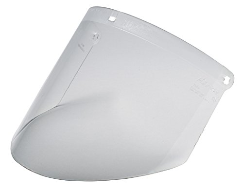 3MTM Polycarbonate Faceshield, Clear, 10/Box, WP96