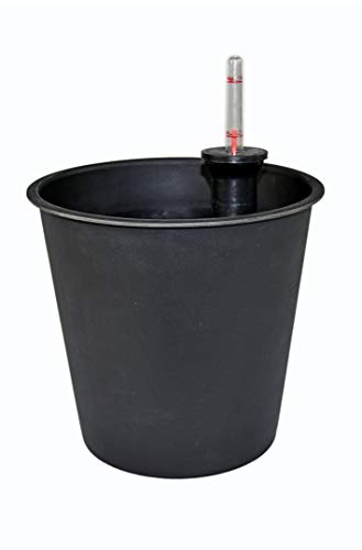 eastwest pflanzkübel Pflanzeinsatz aus Kunststoff mit BEWÄSSERUNGSSYSTEM, für Fiberglaskübel, Ø34xH32cm, rund