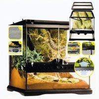 Exo-Terra Glasterrarium 30 x 30 x 45 cm incl. Rückwand