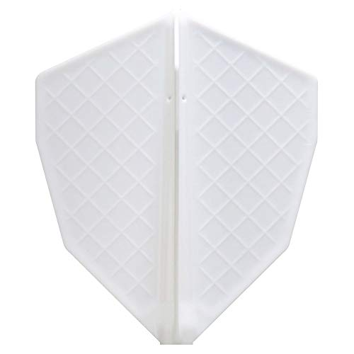 Cosmo darts flights v series s-5 white