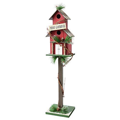 ZXLIFE@@ Decorazioni per Cassette Postali di Natale, Villaggio di Natale, Aggiungi Atmosfera Festosa, Attira L'attenzione, per Davanzale, Mensola del Camino, ECC