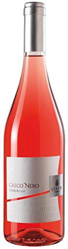 6x 0,75l - 2018er - Statti - Greco Nero - Rosato - Calabria I.G.T. - Kalabrien - Italien - Rosé-Wein trocken