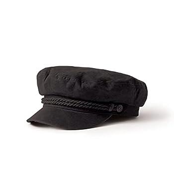 Brixton Men s Fiddler Greek Fisherman Hat black X-Small
