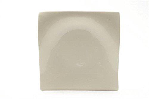 Maxwell RP00018 Carré Porcelaine Blanc Assiette plate