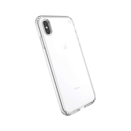 Speck iPhone XS Max Schutzhülle Handyhülle Schützende Hülle Tasche Dünne Schale Hardcase Beständig für Apple iPhone XS Max - Presidio Stay - Transparent