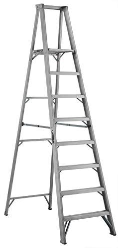 Louisville Ladder AP1008 300-Pound Duty Rating Aluminum Platform Ladder, 8-Foot