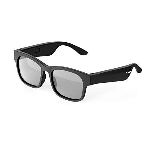 YLJXXY Gafas de Sol Deportivas Inteligentes polarizadas, Auriculares inalámbricos con Bluetooth para Hombres y Mujeres