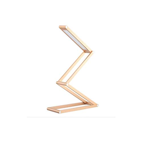 WZHZJ El escritorio plegable del LED de la lámpara, lámpara recargable selfie, portátil del soporte del escritorio, lámpara, portátil y multifuncional de lectura, aprendizaje, camping, hogar, dormitor