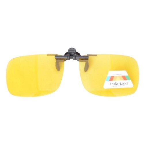 Eyekepper Sonnenbrillen-Clip fuer Brillentraeger Gelb