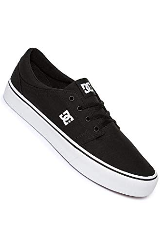 DC Shoes Trase TX Sportschuh niedrig Original DC, - Black White - Größe: 44 EU