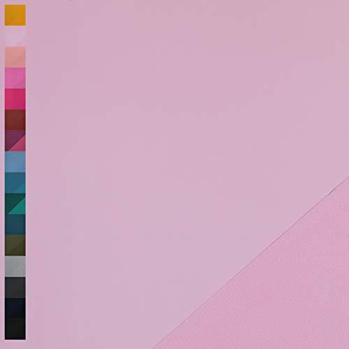 Nano Softshell von Swafing, wind- und wasserabweisend, uni rosa (25cm x 140cm)