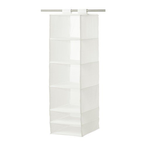 IKEA SKUBB - Caja de almacenaje (6 compartimentos), color blanco