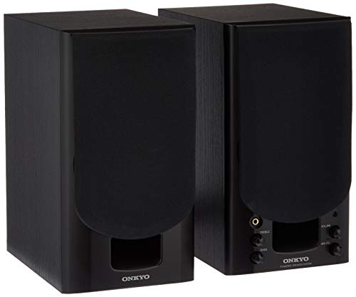 ONKYO GX-70HD2 PCスピーカー/パワードスピーカーシステム WAVIO/ハイレゾ対応 ブラック GX-70HD2(B) 【国...