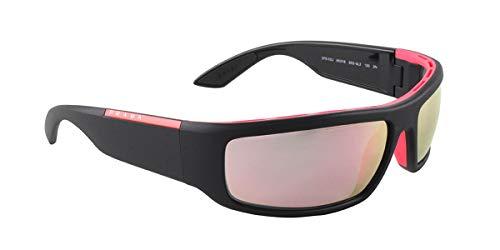 Prada LINEA ROSSA 0PS 02US Gafas de Sol, Black/Pink, 64 para Hombre