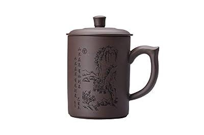 I-MART Purple Clay Tea Cup, Coffee Mug, Chinese Kung Fu Teacupup
