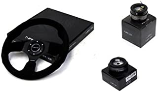 NRG 320MM Steering Wheel + Hub + Quick Release Compatible With Honda Civic DX EX LX VX Si EG 1992 - 1995