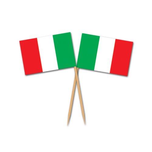 Italienische Flaggen-Auswahl (50 / Pkg)