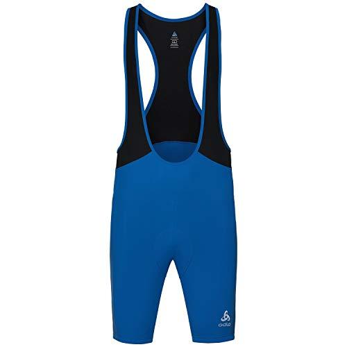 Odlo Herren Element Suspenders Tights, Energy Blue-Black, M