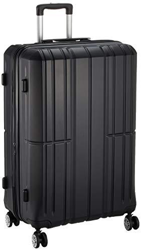 [アイダディ] 【idadi】軽量キャリーケース スーツケース M-7035 保証付 80L 70 cm 4.7kg M7035L-10 ブラック