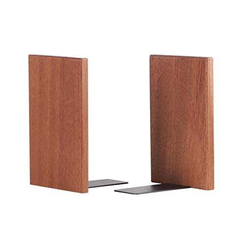 LTCTL Buchstütze Buchstützen aus Holz 1 Paar rutschfeste Buchstützen Buchstopfen...