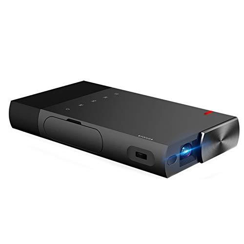 Beamer Projektor Elektrisch LED-Projektor LED Mini S1 Mini-Projektortelefon direkt an DLP Mini 1080P angeschlossen Tragbarer Projektor 1500Lumen 1080p Unterstützte HD DLP LED 5200mAh Eingebauter