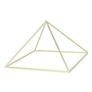 25cm Kupfer Pyramide zur Meditation, Heilenergie, Pyramidenmeditation, Pyramide für Edelsteine, Pyramide um Kristalle…